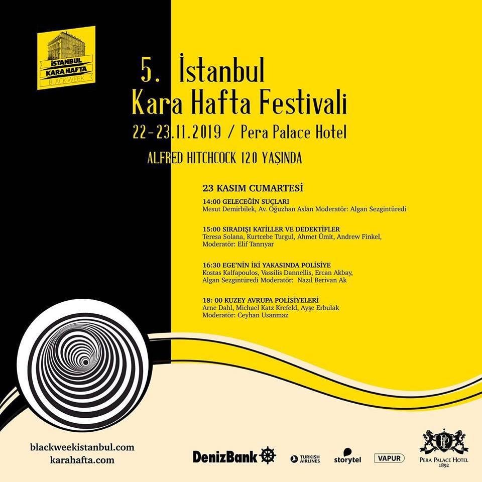 5. İstanbul Kara Hafta  Festivali afişleri
