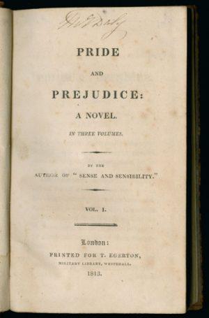 Pride&Prejudice, 1813